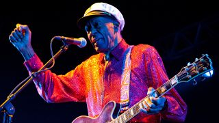 A picture of Chuck Berry