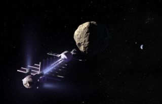 Gravity-Powered Asteroid Tractor Proposed to Thwart Impact