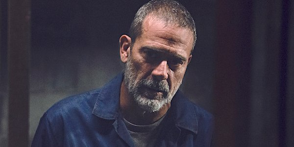 negan out of cell the walking dead winter finale