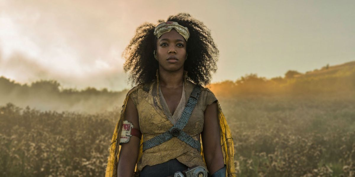 Naomi Ackie as Jannah in Star Wars: Rise of Skywalker