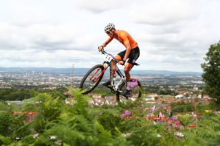 Men's Mountain Bike Cross-Country on Day Six of the European Championships Glasgow 2018 at Cathkin Braes Mountain Bike Trails on August 7, 2018 in Glasgow, Scotland.