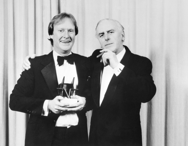 George Cole with his Minder co-star Dennis Waterman