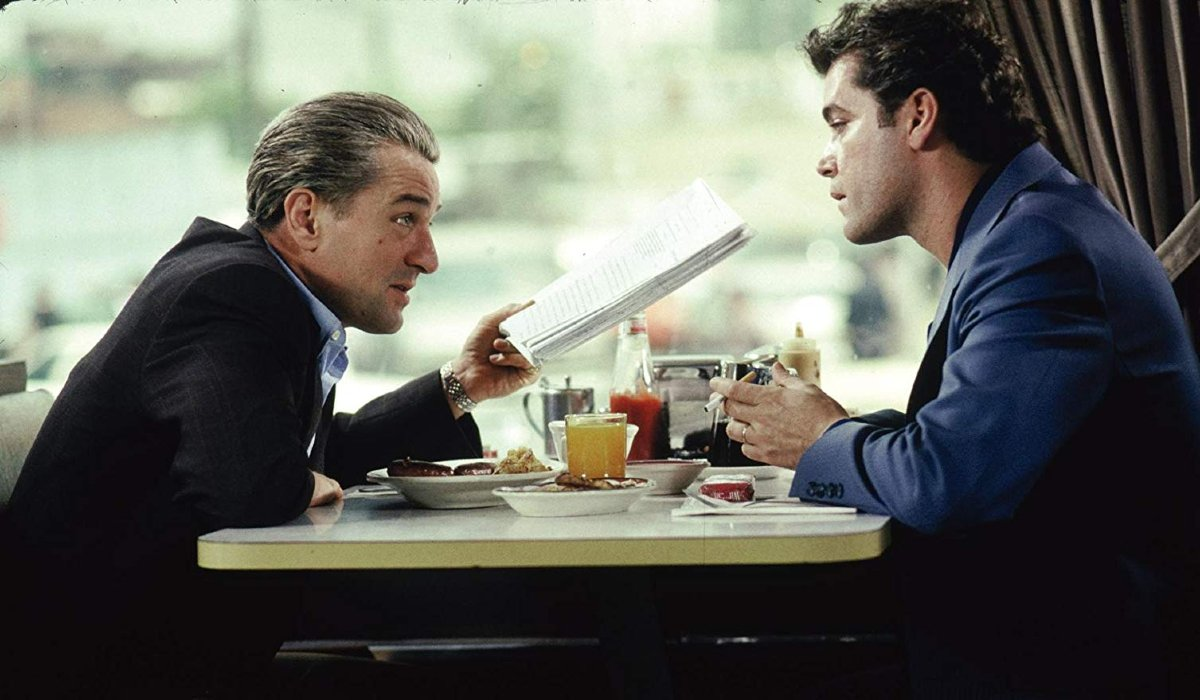 Goodfellas Jimmy and Henry meet at the diner