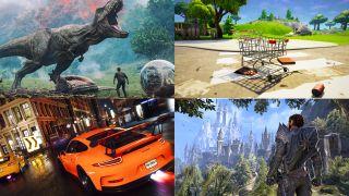 Jurassic World: Fallen Kingdom, trolleys in Fortnite, The Crew 2, and Elder Scrolls Online Summerset