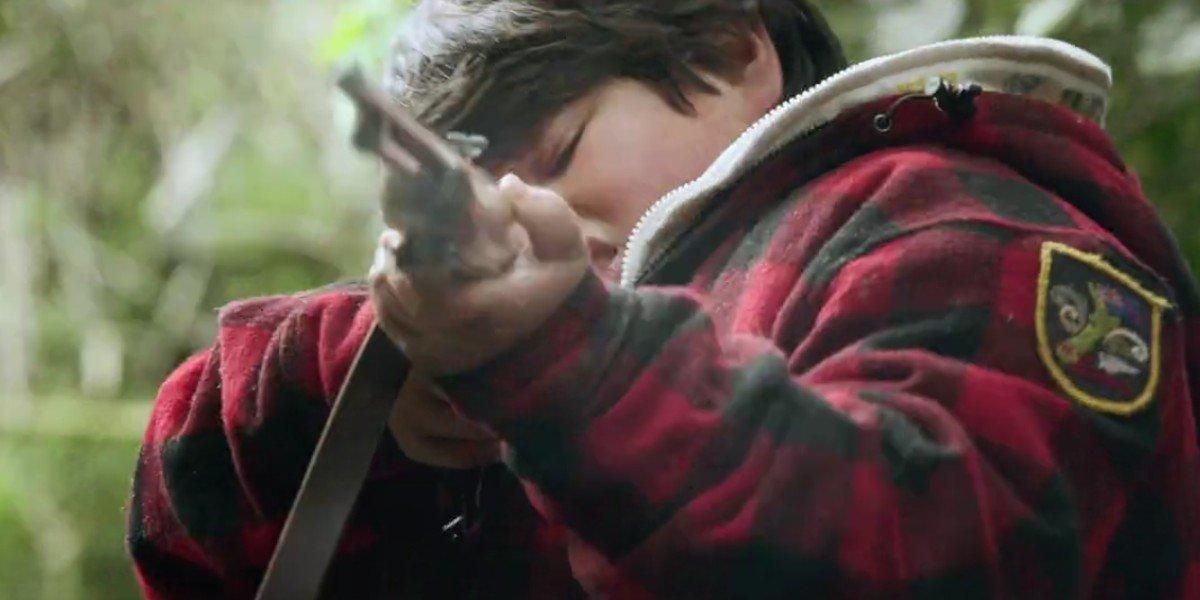 Julian Dennison in The Hunt For The Wilderpeople