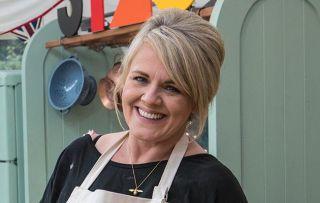 Celebrity Bake Off Sally Lindsay