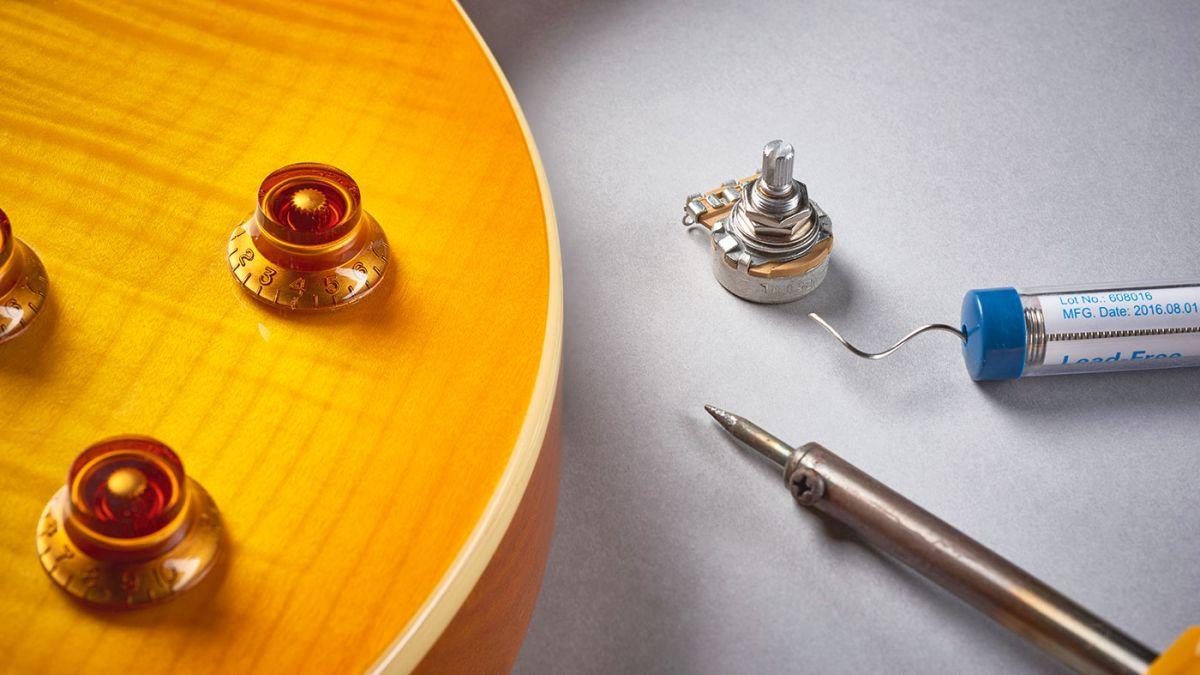 Guitar setup: how to replace your pots   MusicRadar