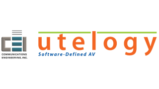 Utelogy, CEI Partner for AV Control, Management, and Analytics System
