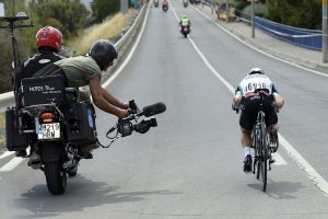 'As a moto rider on the Vuelta, I feel like a pariah right now'