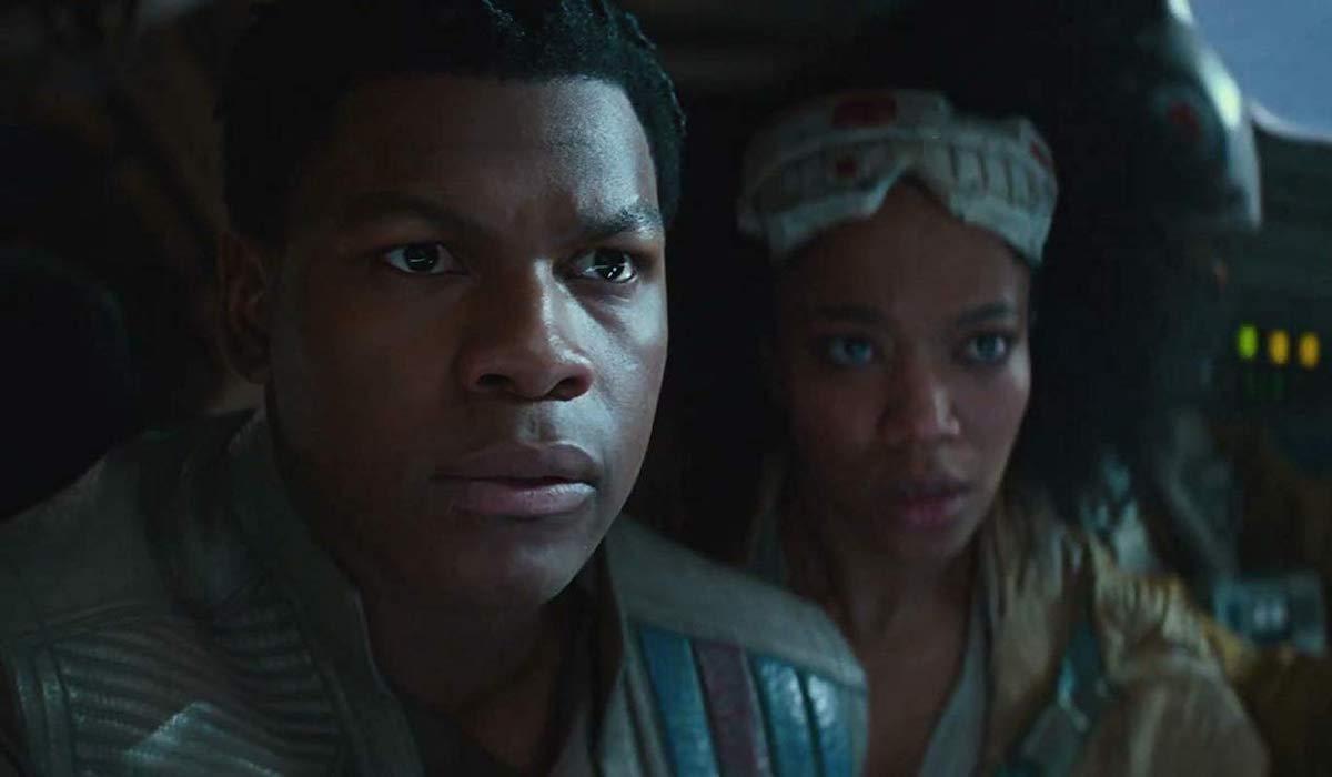 Finn and Jannah in Star Wars: Rise of Skywalker