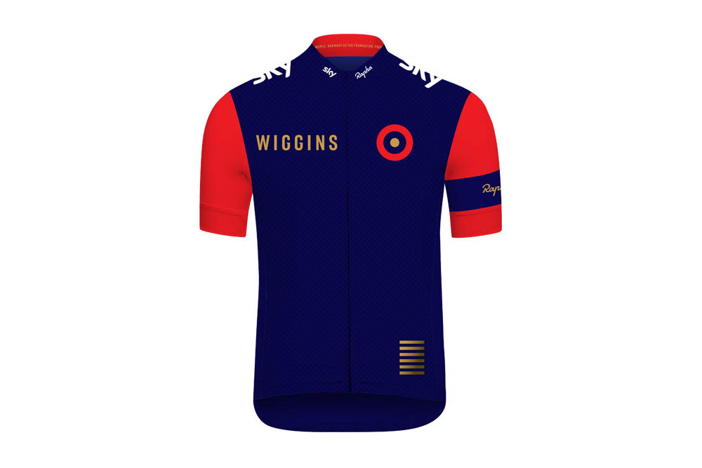 Wiggins team jersey unveiled by rapha cycling weekly