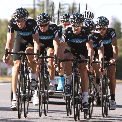Team Sky, Adelaide, January 2010