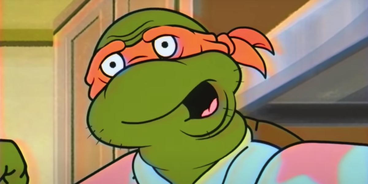 middle age mutant ninja turtles michelangelo