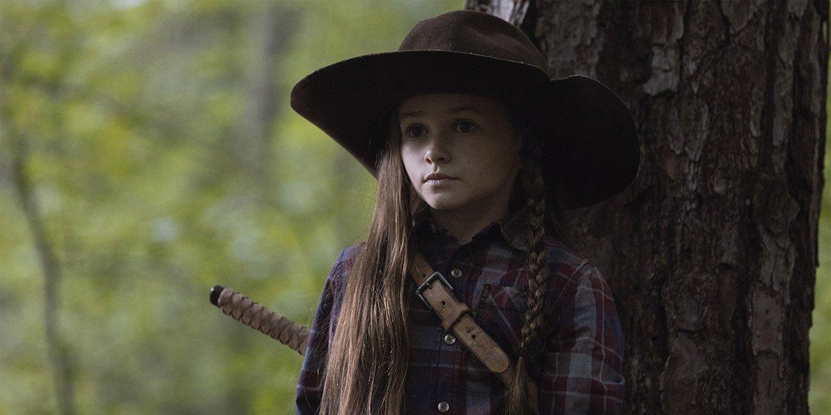Judith Grimes in The Walking Dead.