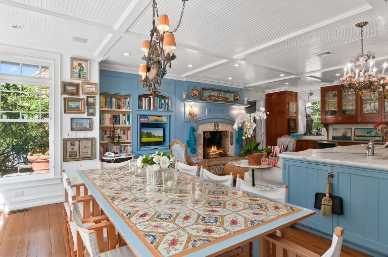 Christie Brinkley's kitchen