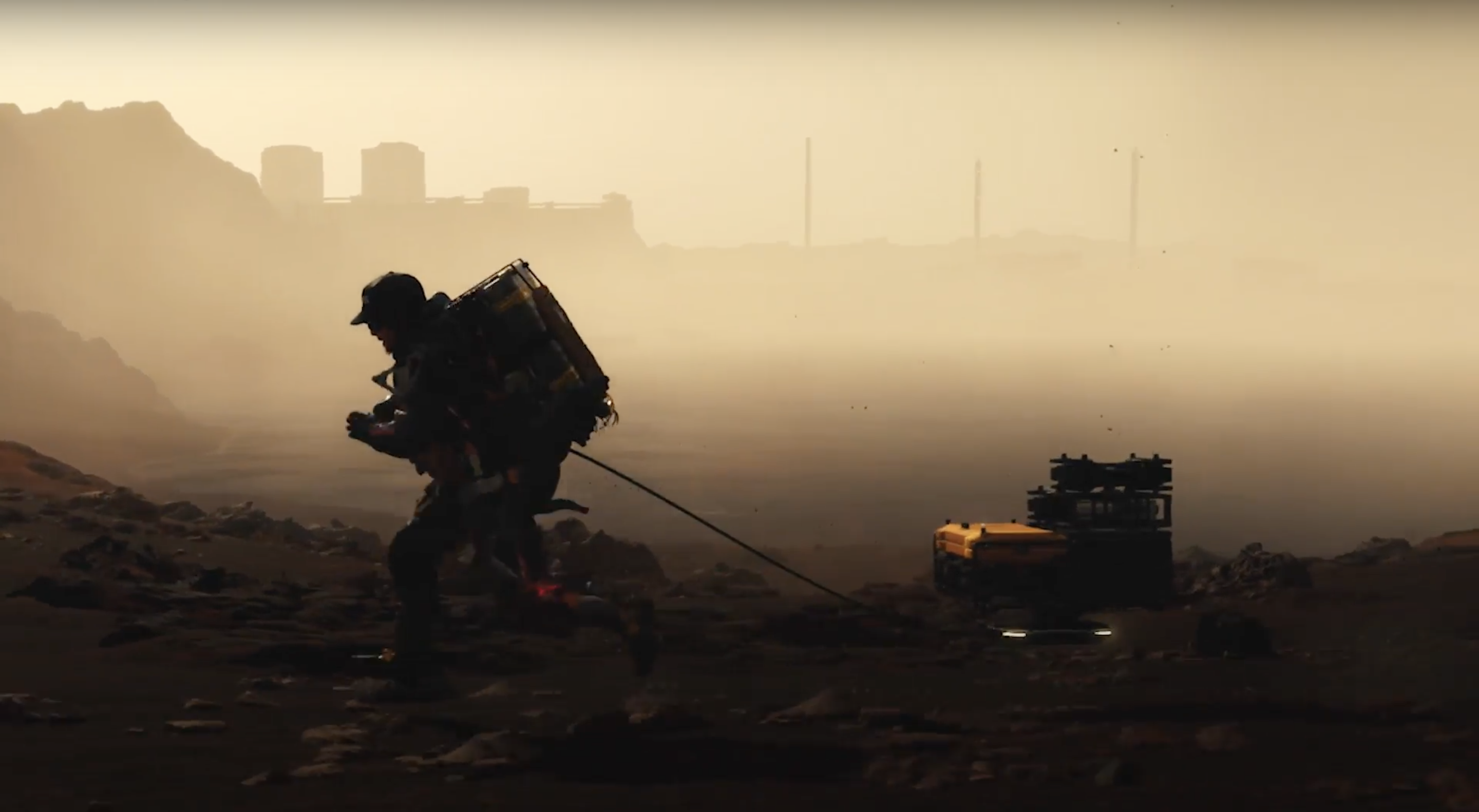 Death Stranding breaks up its slow pace with some great action sequences