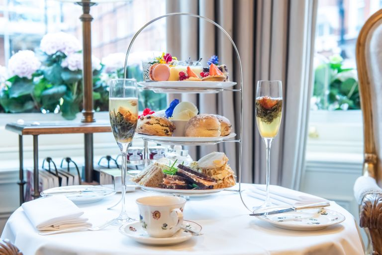 Afternoon tea at Egerton House Hotel