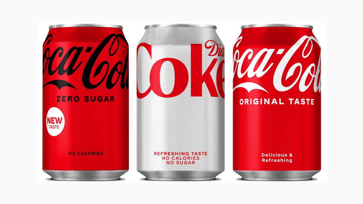 Coca-Cola unveils a bold and minimal new redesign