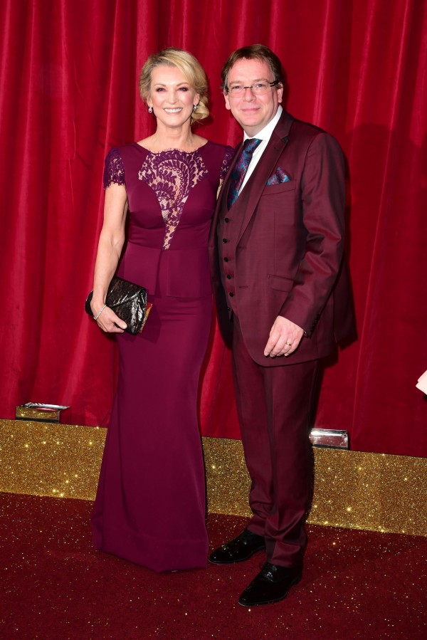 Adam Woodyatt and Gillian Tayforth