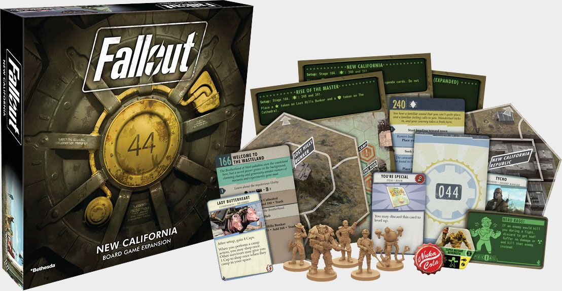 This expansion set for Fallout: The Board Game is half off today