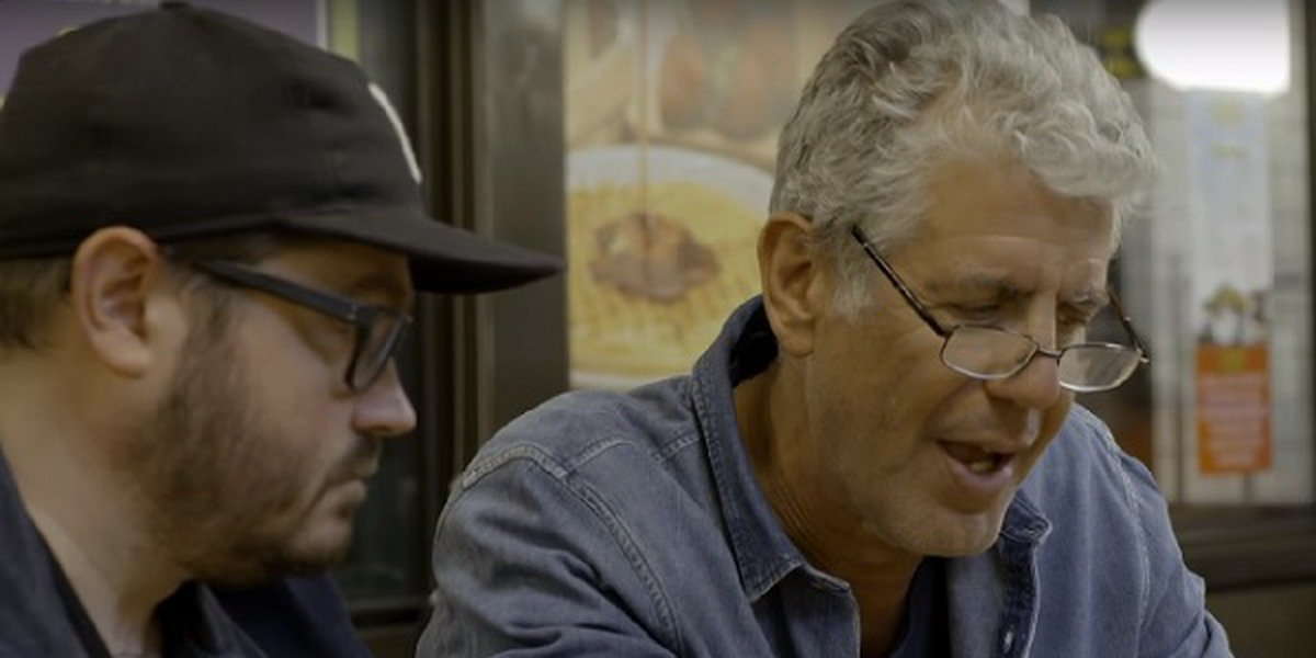 Sean Brock and Anthony Bourdain on Anthony Bourdain: Parts Unknown