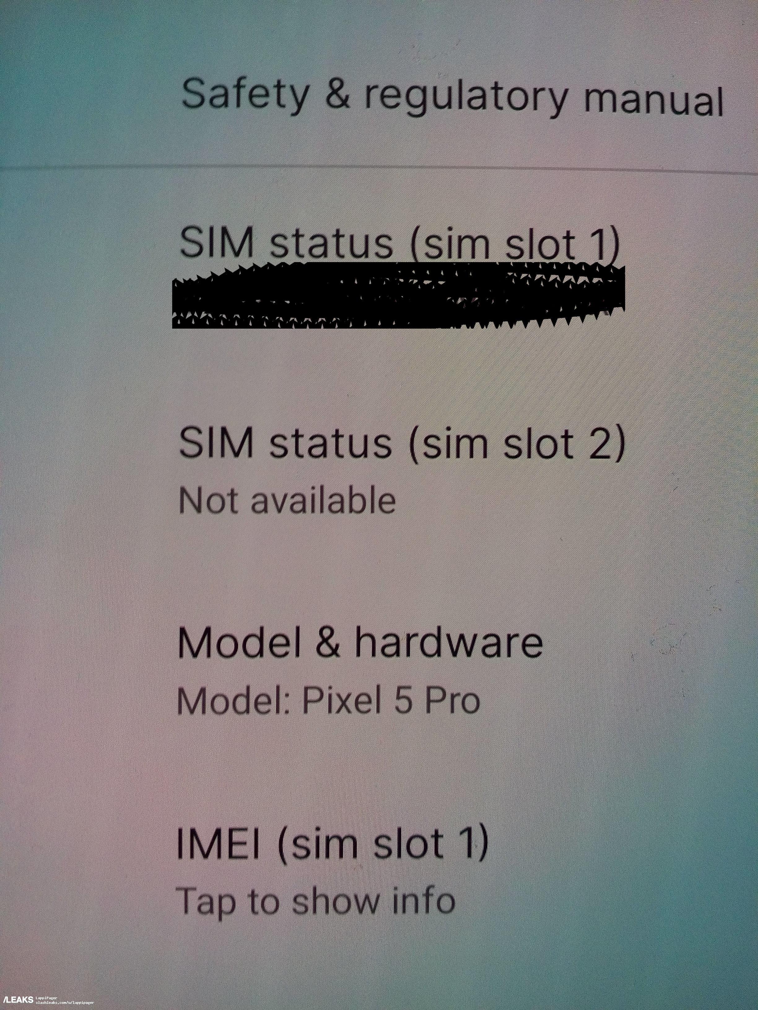 Pixel 5 Pro