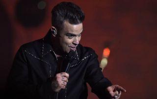 Robbie Williams in concert at St John at Hackney Church, London, UK - 14 Dec 2016