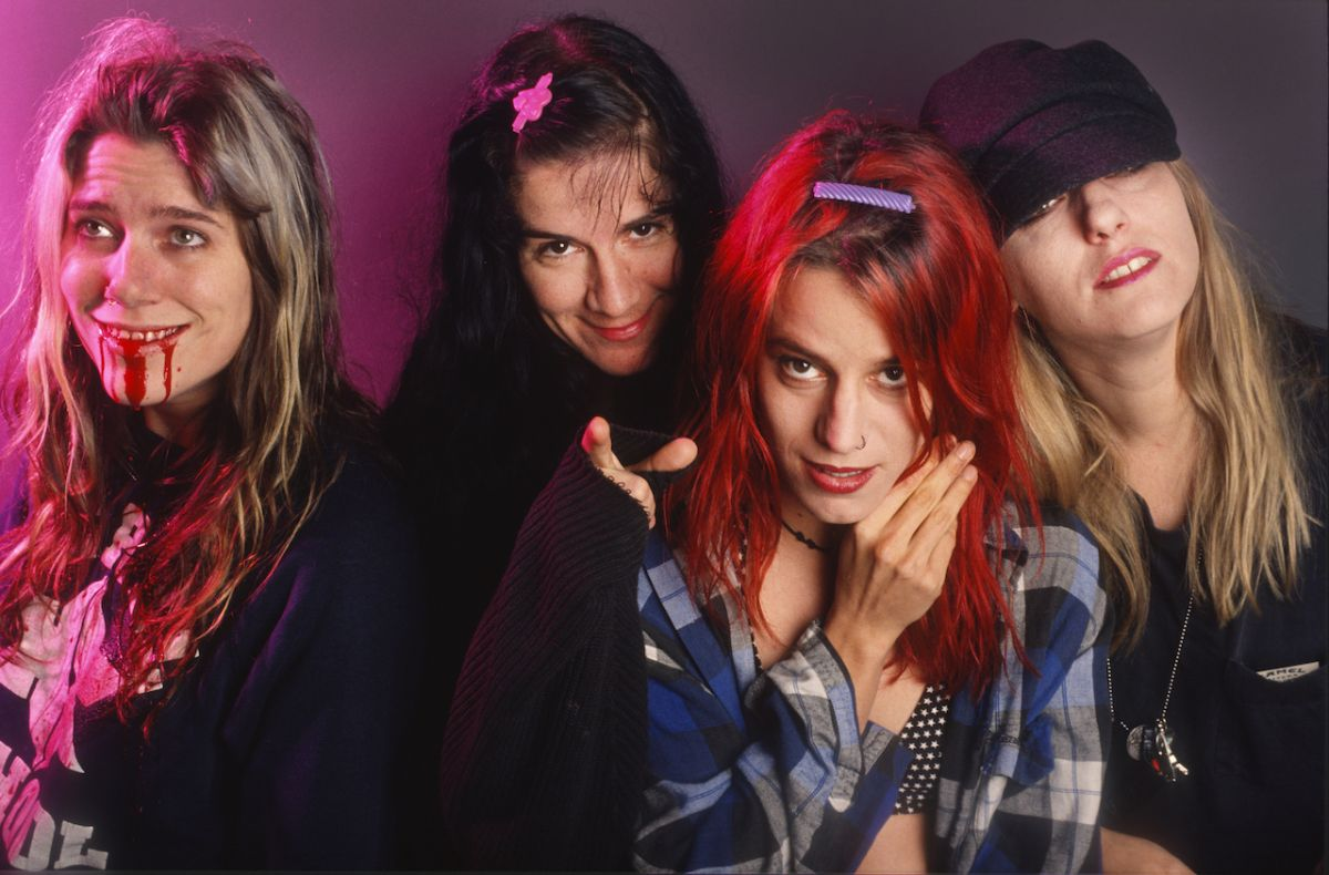 """There were """"penises everywhere"""" when L7 met Motley Crue"""