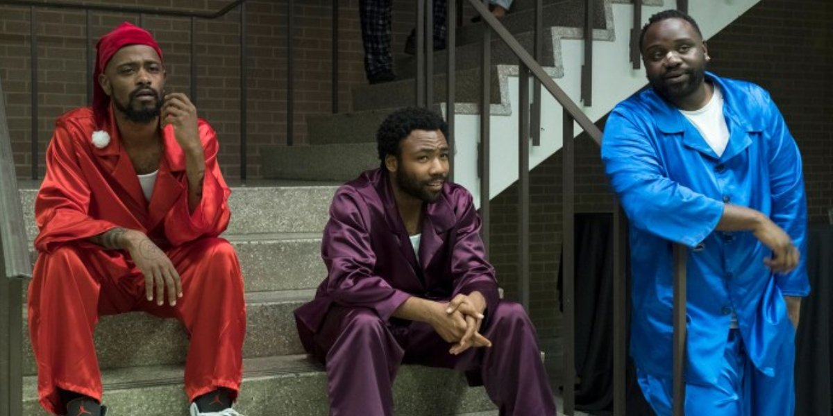 Lakeith Stanfield, Donald Glover, Brian Tyree Henry on Atlanta