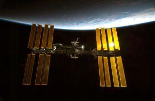 ISS in Sunlight
