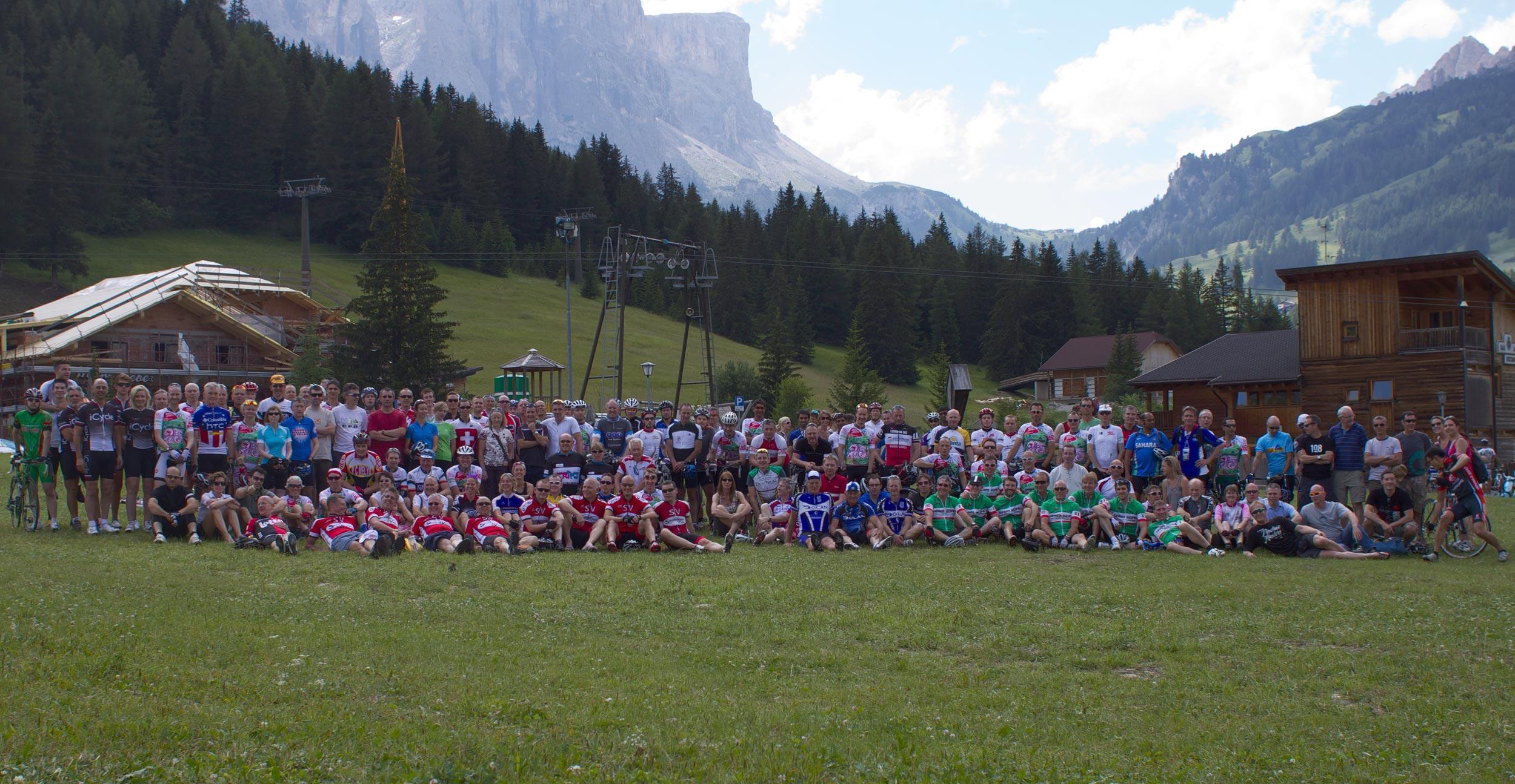 Cycling Weekly group, Maratona dles Dolomites 2011