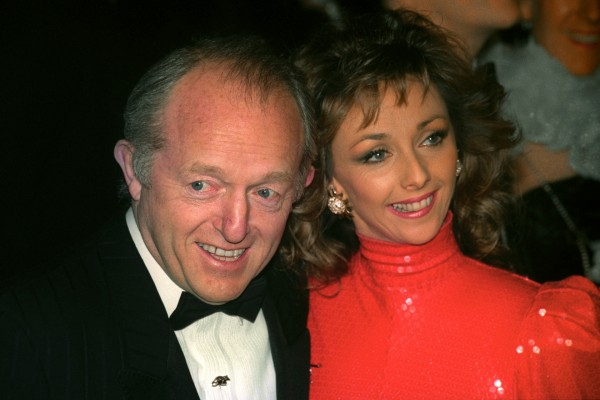 Paul Daniels and Debbie McGee in 1992 (Martin Keene/PA)