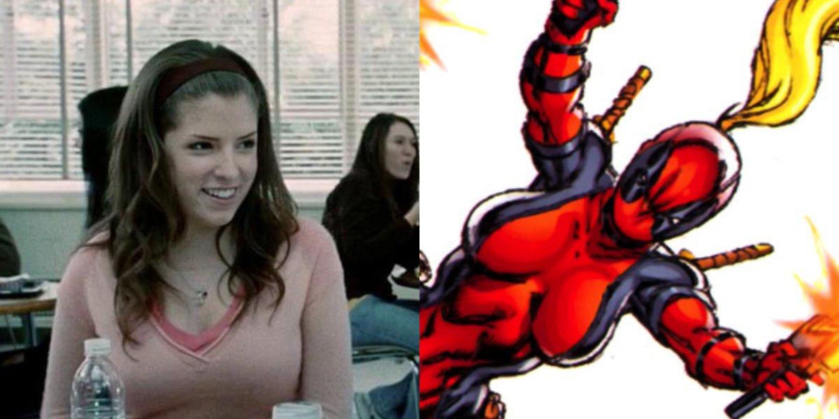 Anna Kendrick and Lady Deadpool