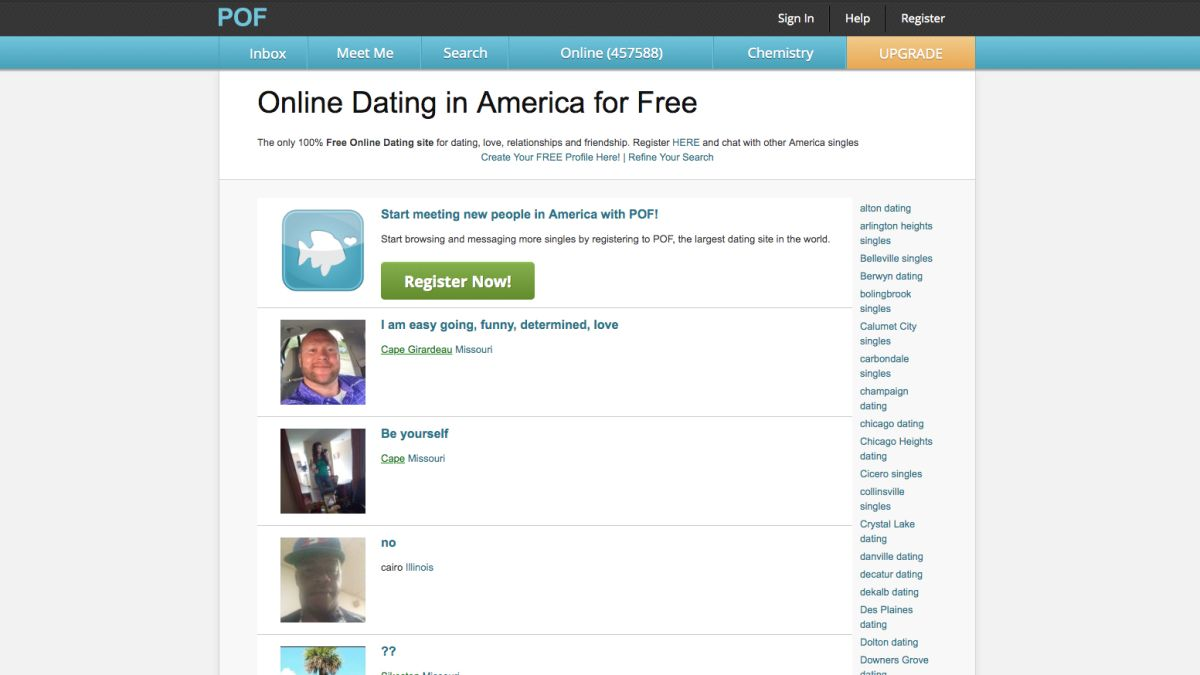 List of all canadian dating sites