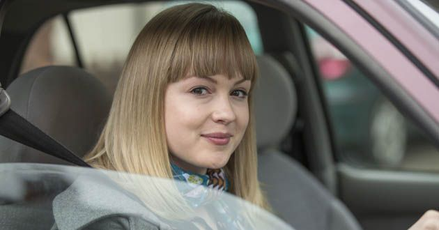 Kimberley Nixon plays Holly Pryce in Ordinary Lies