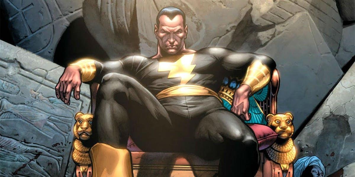 Black Adam DC Comics