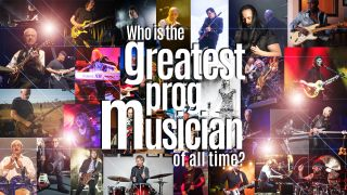 graphic to accompany the Greatest Prog Musician poll in Prog Magazine