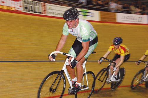 Martin Johnson track cycling