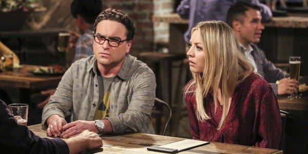 Johnny Galecki Leonard Hofstadter Kaley Cuoco Penny The Big Bang Theory CBS