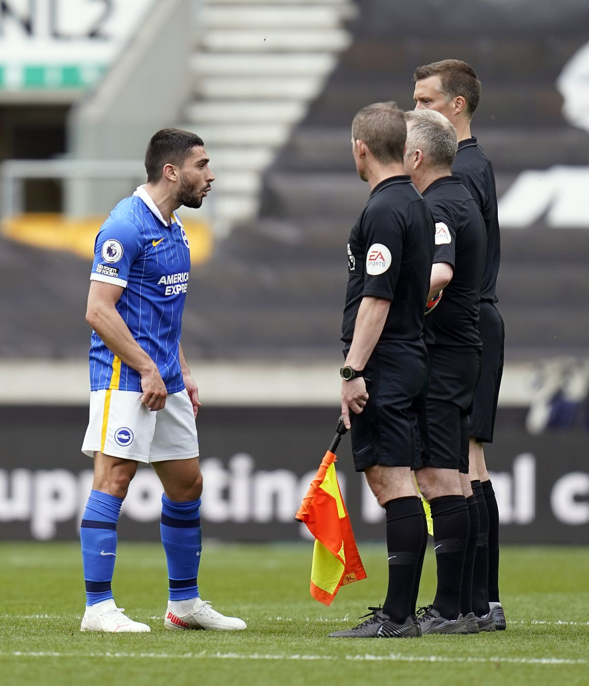 Season over for Brighton's Neal Maupay after FA adds match to his two-game ban