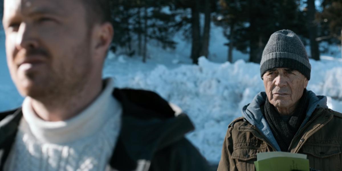El Camino in Alaska Aaron Paul Jesse Pinkman Robert Forster as Ed Galbraith