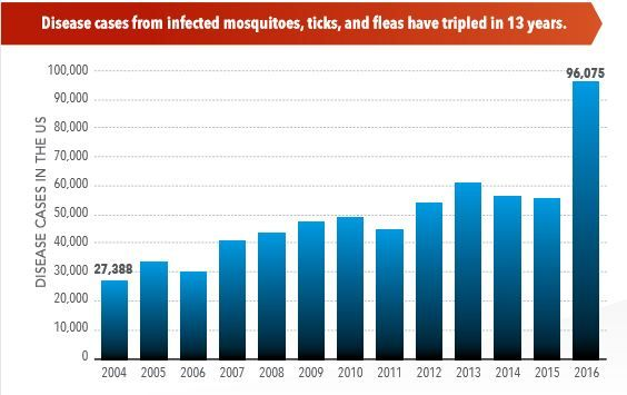 Tickborne Diseases Are On the Rise  Is Climate Change to