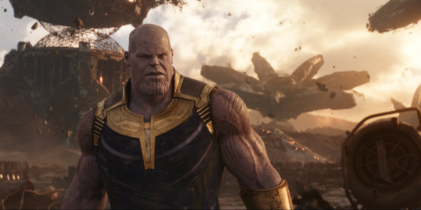 Thanos Avengers Infinty War Josh Brolin titan