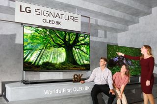 LG begins global roll-out of its first 8K TVs