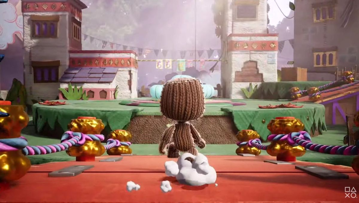 """Sackboy: A Big Adventure review-in-progress: """"Hard to think of a game that has delivered so much joy"""" 