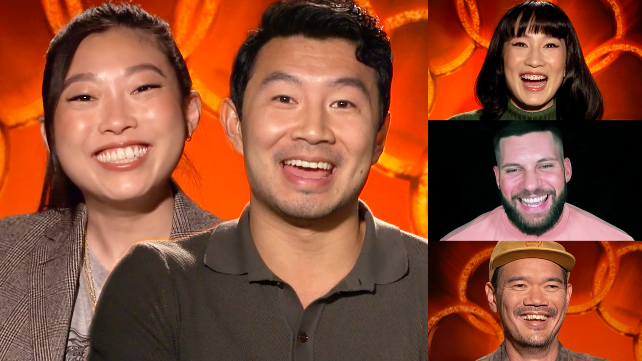 'Shang-Chi and the Legend of the Ten Rings' Interviews with Simu Liu, Awkwafina and More!