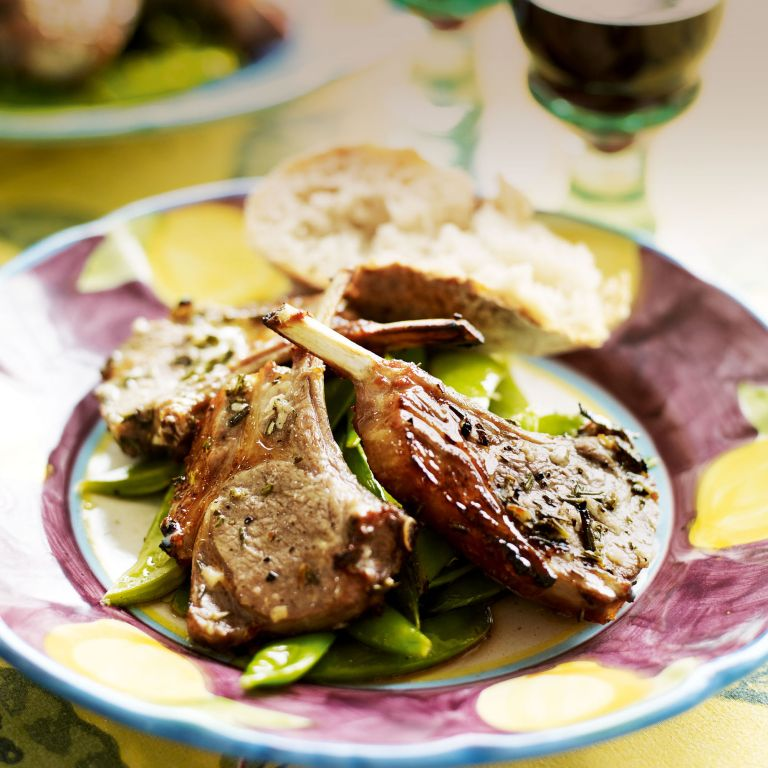 Marinated Lamb Cutlets with Rosemary and Red Wine Vinegar recipe-new recipes-woman and home