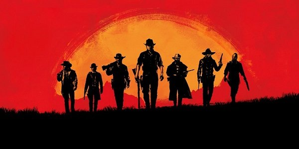 Cowboys march Red Dead Redemption 2