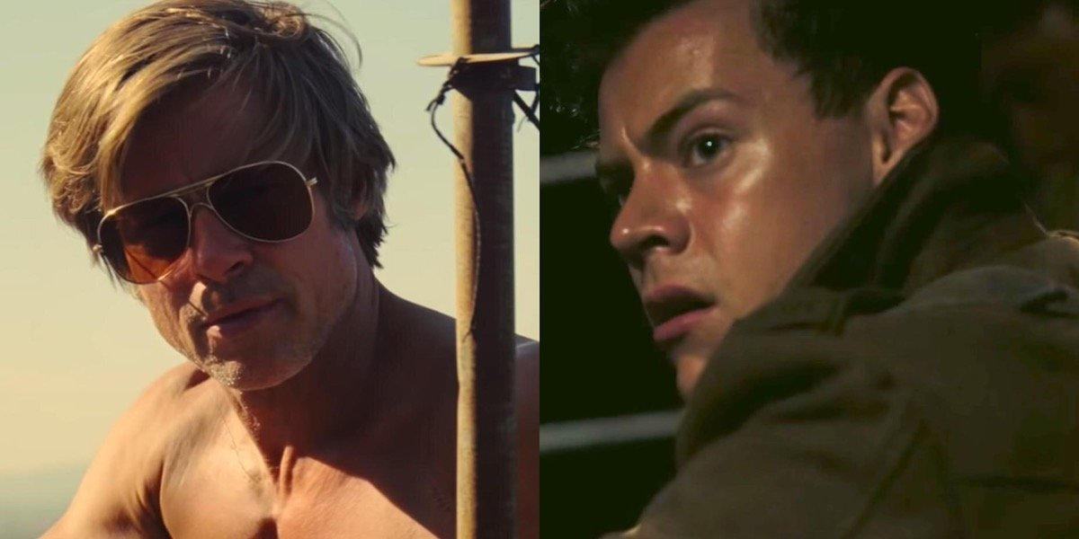 Brad Pitt and Harry Styles