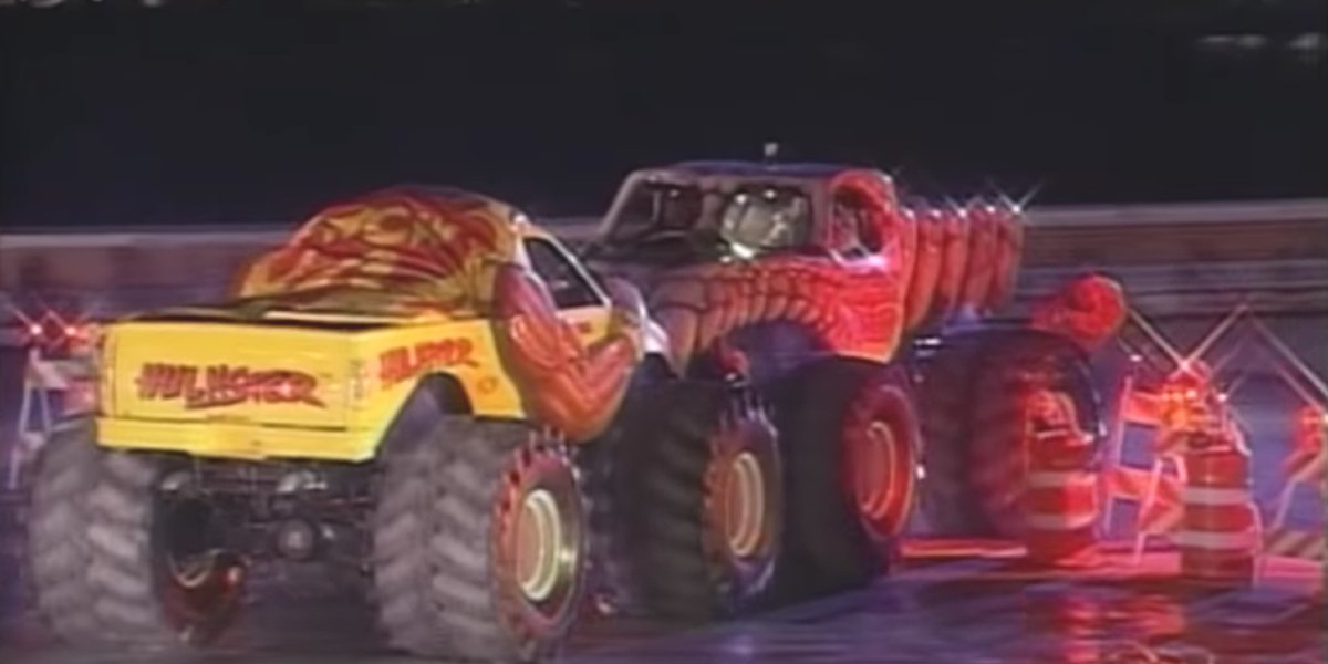 The Sumo Monster Truck Match